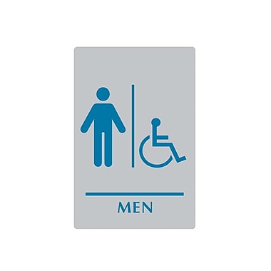 Sintra Men/Wheelchair Accessible Washroom Sign, 6