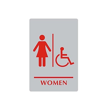 Sintra Women/Wheelchair Accessible Washroom Sign, 6