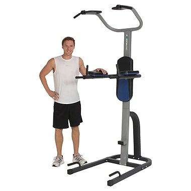 Exerpeutic Steel, Plastic ProGear 275 Tower Fitness Station with Extended Capacity Power