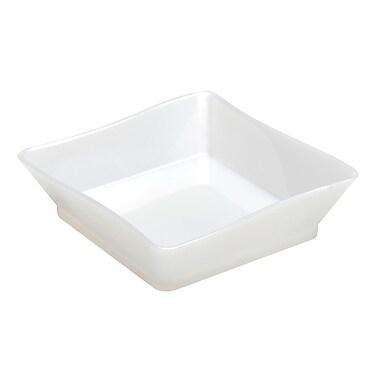 Tiny Temptations Plastic White Tiny Trays 2.25