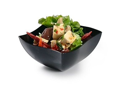Tiny Temptations China Like Square Serving Bowl 8 Oz. 1101807