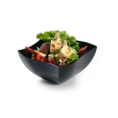 Tiny Temptations China Like Square Serving Bowl 8 Oz.