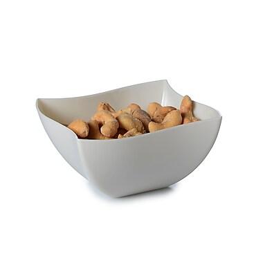 Tiny Temptations Wavetrends Bone China-Like Square Serving Bowl 16 Oz.