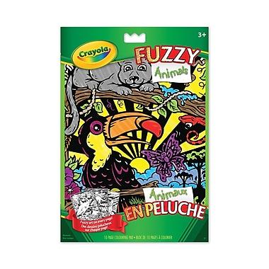 Crayola® - Pages à colorier Animaux en peluche, paq./12