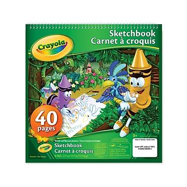Crayola® - Carnet à croquis, paq./12