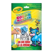 Crayola® Color Wonder Mini Colouring Pad On the Farm, 6/Pack