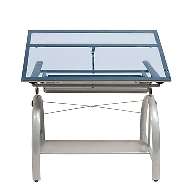 Studio Designs Avanta 42''Lx24''D Rectangular Drafting Table, Steel