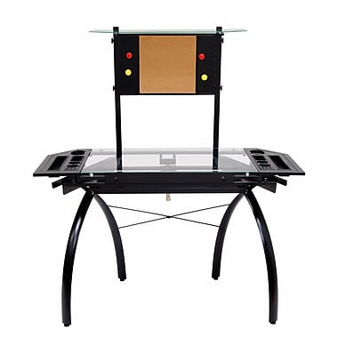 Studio Designs Futura 50''Lx22''D Specialty Drafting Table, Black