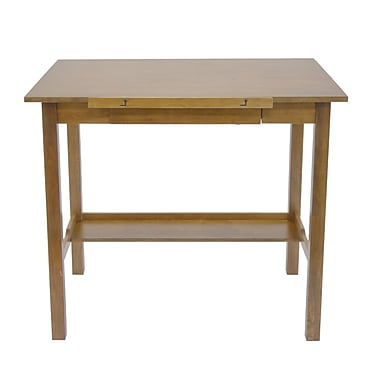 Studio Designs Americana II 42''Lx30''D Rectangular Drafting Table, Wood/Veneer