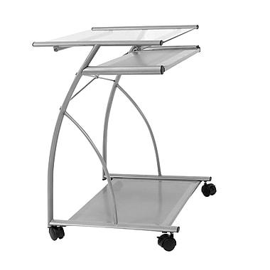 Calico Designs 27''Lx18.75''D Square Workstation Table, Black (50101)