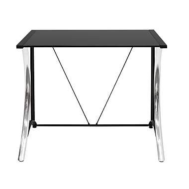 Calico Designs Monterey 35''Lx20''D Rectangular Workstation Table, Steel (50401)