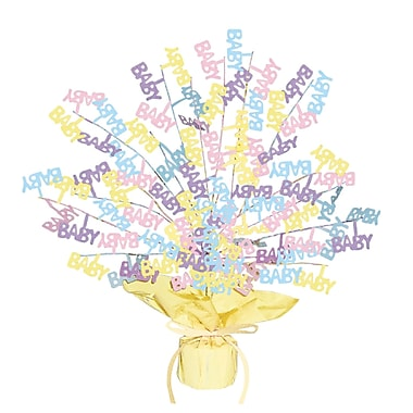 Baby Shower Gleam 'N Burst Centerpiece, 15