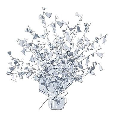 Ornement de table argenté anniversaire de mariage Gleam 'N Burst, 15 po, paquet de 3