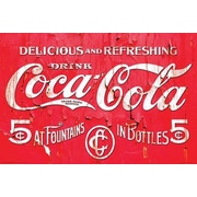 "Pyramid America™ ""Coca-Cola Logo"" Poster"