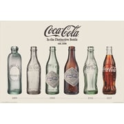 "Pyramid America™ ""Coca-Cola - Evolution"" Poster"