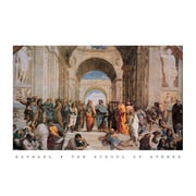 Ace Framing Raphael School Of Athens Framed Poster, 24 x 36