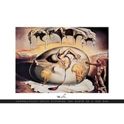 Ace Framing Salvador Dali Geopoliticus Child Framed Poster, 24 x 36