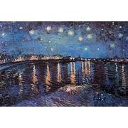 "Pyramid America™ Vincent Van Gogh ""Starlight Over The Rhone"" Poster"
