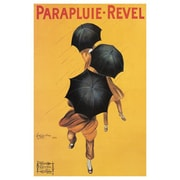 Ace Framing Cappiello Vintage Parapluie Revel Framed Poster, 36 x 24