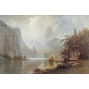 Pyramid America™ Albert Bierstadt In The Mountains Poster