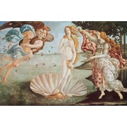 "Ace Framing Sandro Botticelli ""Birth Of Venus"" Framed Poster, 24"" x 36"""