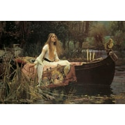 Ace Framing John William Waterhouse The Lady Of Shallott Framed Poster, 24 x 36