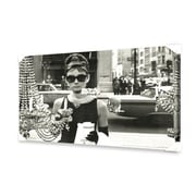 Ace Framing Audrey Hepburn - Window Canvas Wall Art, 24 x 36