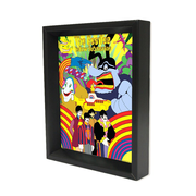 Ace Framing Beatles Yellow Submarine 3D Shadow Box, 8 x 10