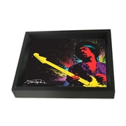 Ace Framing Jimi Hendrix Paint 3D Shadow Box, 8 x 10