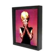 "Ace Framing ""Marilyn Monroe Pink Gloves"" 3D Shadow Box, 8"" x 10"""
