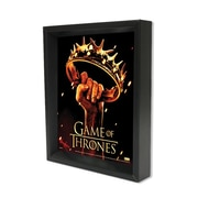 "Ace Framing ""Game of Thrones Crown"" 3D Shadow Box, 8"" x 10"""