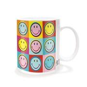 "Pyramid America™ Andy Warhol ""Smiley Pop Art"" 11 oz. Coffee Mug"