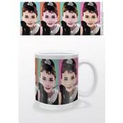 "Pyramid America™ ""Audrey Hepburn Pop Art"" 11 oz. Coffee Mug"