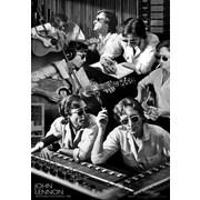 Ace Framing John Lennon Watching the Wheels Studio 3D Poster, Mini