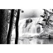 Pyramid America™ Waterfall Lake Poster