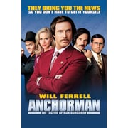 "Ace Framing ""Anchorman Will Ferrell Movie"" Framed Poster, 36"" x 24"""
