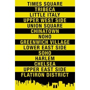 Pyramid America™ NYC - Location Signs Poster