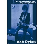 Ace Framing Bob Dylan Mr. Tambourine Man Framed Poster, 36 x 24