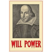 Pyramid America™ Will Power - William Shakespear Poster