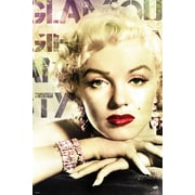 """Pyramid America™ """"Marilyn Monroe Glamour"""" Color Poster"""