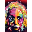Ace Framing in.Albert Einstein Dean Russoin. Framed Poster, 36in. x 24in.