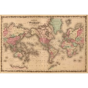 Pyramid America™ Old World Map Poster