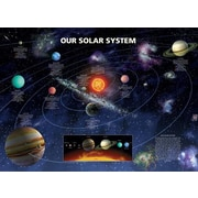 Ace Framing Our Solar System Framed Poster, 24 x 36