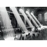 Ace Framing Grand Central Station NYC Sunlight Framed Poster, 24 x 36
