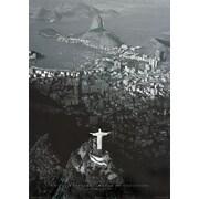Pyramid America™ Rio De Janeiro Cristo Redentor Mureo De Corcovado Poster
