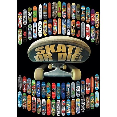Ace Framing Skate or Die Skateboard Collection Framed Poster, 36 x 24