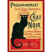 Ace Framing Tournee Du Chat Noir Steinlein C.1896 Framed Poster, 36 x 24