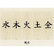 Pyramid America™ Feng Shui Chinese Characters Poster