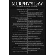 Ace Framing Murphy's Law Framed Poster, 36 x 24