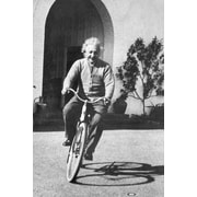 "Ace Framing ""Albert Einstein Bike Fun Ride"" Framed Poster, 36"" x 24"""